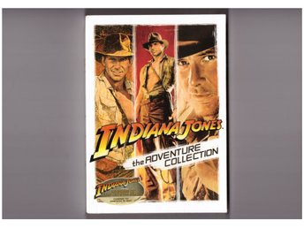 Indiana Jones Adventure Collection (3-disc) (Harrison Ford) Ny Inplastad