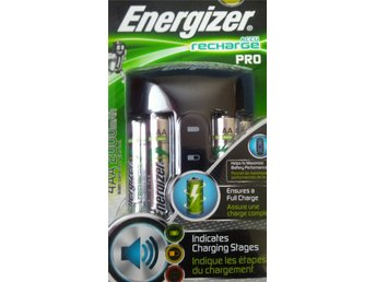 Energizer Pro + 4x AA Charger/Batteriladdare