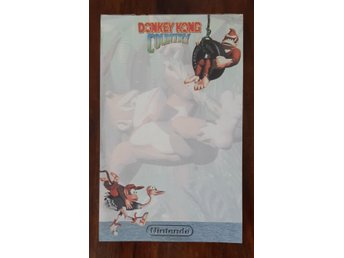 Donkey Kong Country notepad from 1994 extremely rare!