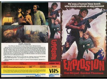 Explosion / Walthers video / Richard Conte / Sherry Mitchel