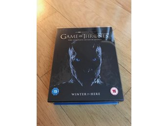 GAME OF THRONES Säsong 7 Limited Blu-ray Box set inkl. Conquest & rebellion
