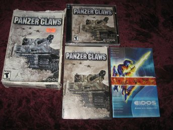 PANZER CLAWS WORLD WAR II PC CD-ROM