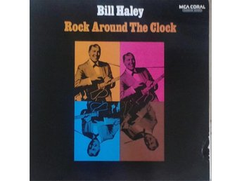Bill Haley  titel*  Rock Around The Clock* Rock, Rock & Roll Scandinavian LP