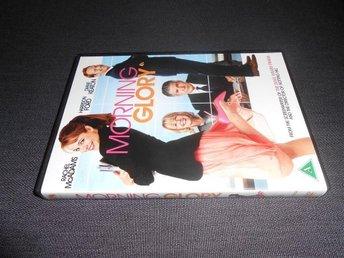 DVD: Morning Glory. Komedi från 2010 med Harrison Ford, Rachel McAdams m.f. - Bromölla - DVD: Morning Glory. Komedi från 2010 med Harrison Ford, Rachel McAdams m.f. - Bromölla