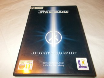 Star Wars Jedi Knight II Jedi Outcast PC CD ROM Lucas Arts spel
