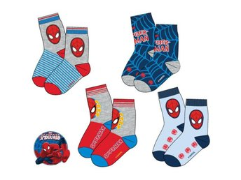 Spiderman/Spindelmannen Strumpor Baby 4-pack 0-6m
