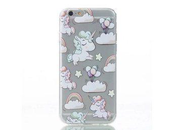 iPhone 6/6S - Enhörning Regnbåge rosa moln - Mjölby - iPhone 6/6S - Enhörning Regnbåge rosa moln - Mjölby