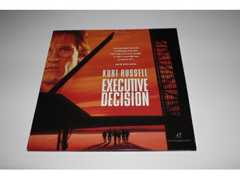 Executive decision laser disc film i fint skick