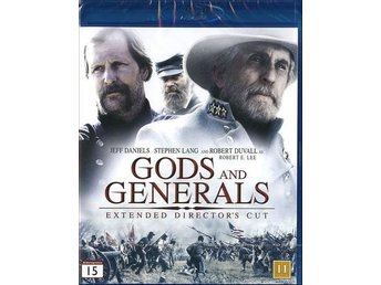 Gods and Generals. Extended cut - Inplastad - Blu-ray