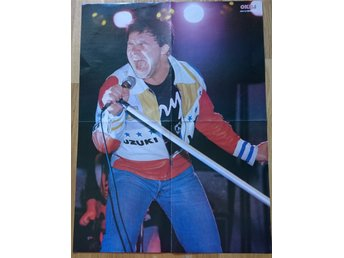 JERRY WILLIAMS - OKEJ Posters, idolbild 80-tal