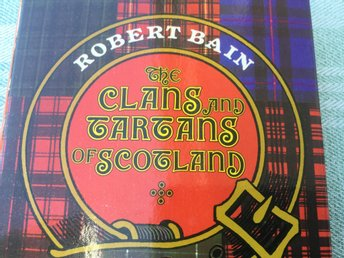 Bok The clans and tartans of Scotland, 0m Skottlands klaner och tyger. Bain