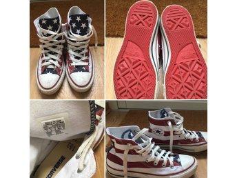 Javascript är inaktiverat. - Malmö - Säljer ett par Converse All Star skor i storlek 36,5. Knappt använda som ni ser på bilden. Frakt tillkommer. Mvh Malin - Malmö