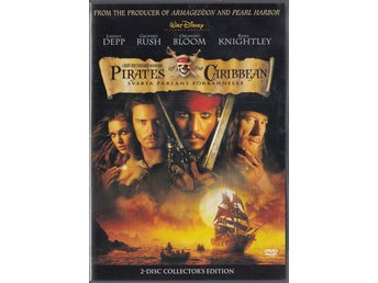 Pirates of the Caribbean The Curse of the Black Pearl 2003 2-Disc DVD