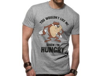 LOONEY TUNES - TAZ HUNGRY  T-Shirt Large