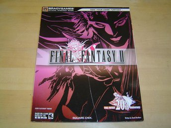 SPELGUIDE SPEL GUIDE FINAL FANTASY 2 SONY PSP *NYTT*