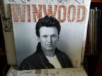 STEVE WINWOOD - ROLL WITH IT - LP