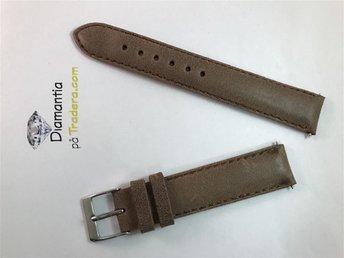 18 mm -- NYTT -- klockarmband i äkta läder -- Brunt -- brun armband för klockor - Boliden - 18 mm -- NYTT -- klockarmband i äkta läder -- Brunt -- brun armband för klockor - Boliden