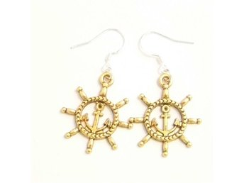 Skeppsratt örhängen / Ships wheel earrings