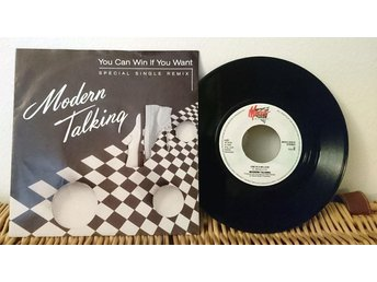Modern Talking - You Can Win If You Want - 7'' vinyl Mega Records NM