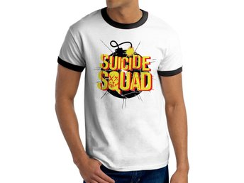 SUICIDE SQUAD - EXPLODING BOMB (UNISEX RINGER)   T-Shirt - Small