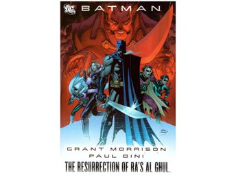 Batman The Resurrection of Ra's Al Ghul HC 2008 DC 149sek!!!