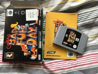Conker's bad fur day. PAL Nintendo 64