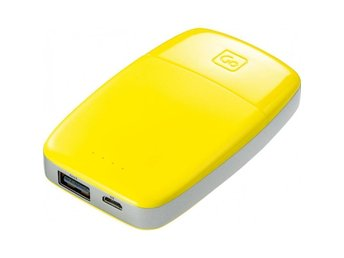 GO-Travel yellow Power bank Powerbank 4000mAh Mobilt batteri USB