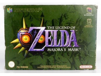 The Legend of Zelda: Majora's Mask - N64 - PAL (EU)