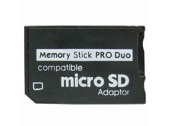Micro SD till MS Pro Duo Adapter