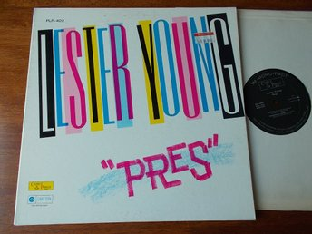 LESTER YOUNG - Pres, LP Charlie Parker Records PLP-402, USA 196?