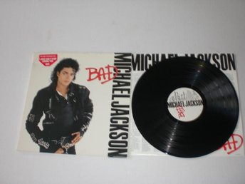 MICHAEL JACKSON-BAD 1987. EX/VG++
