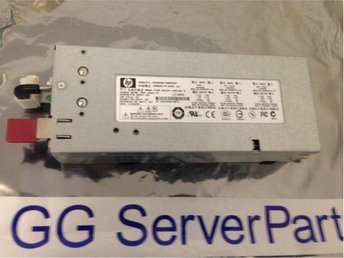 HP Hot-plug PSU 1000W 403781-001 till DL380 ML350 ML370 G5