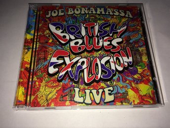 JOE BONAMASSA British Blues Explosion Live 2-CD 2018 Import
