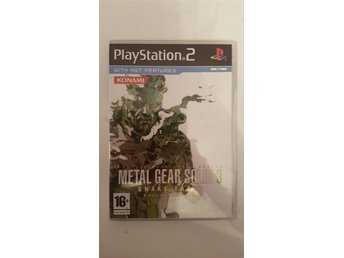 Metal Gear Solid 3 Snake Eater Playstation 2 PS2