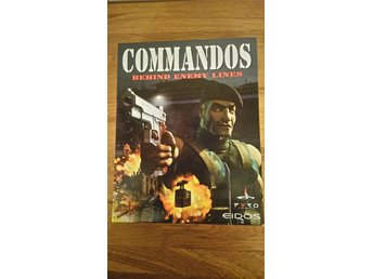 COMMANDOS. BEHIND ENEMY LINES PÅ CD