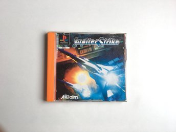 Jupiter Strike - PlayStation 1 / PS1 / PSX - PAL - Svensksåld
