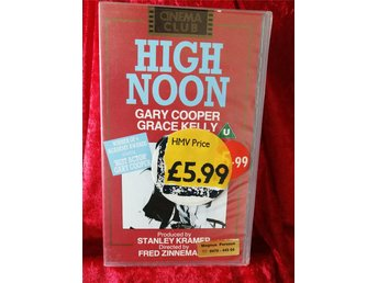 DVD Sheriffen/High Noon (Gary Cooper, Grace Kelly)