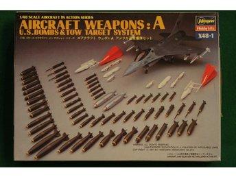 Hasegawa 1/48 US aircraft weapons A - Lund - Hasegawa 1/48 US aircraft weapons A - Lund