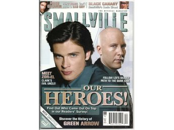 Smallville Magazine # 25 Cover A NM Ny Import REA!