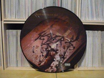 SLAYER - God hates us all / LP Picture disc - Basel - SLAYER - God hates us all / LP Picture disc - Basel