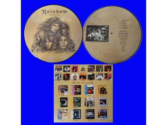 RAINBOW 'Long Live Rock And Roll' Japan picture-disc LP