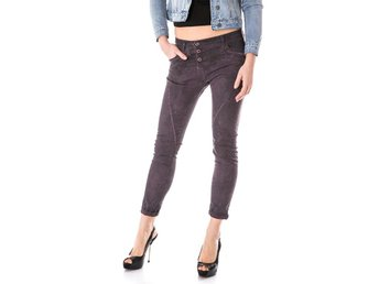 Please P78 DJ9 Women's baggy jeans pants  Violet - M
