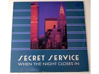 Secret Service / When The Night Closes In LP 1985 Sonet