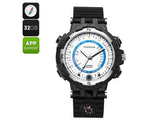 Bluetooth Smart Watch Foxware Y30 - 5MP Camera, Wi-Fi, iOS + Android App