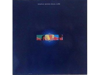 Simple Minds title* Real Life* EU LP