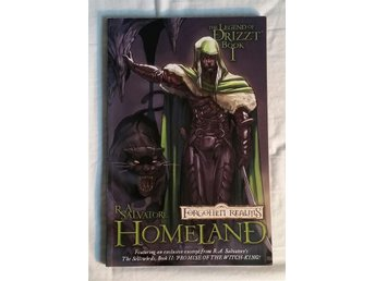 Forgotten Realms The Legend of Drizzt Book 1 Homeland R. A. Salvatore