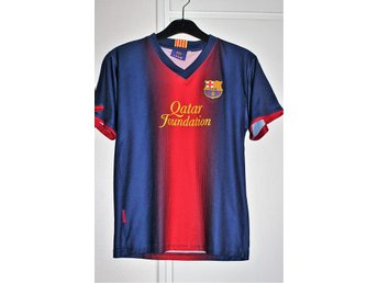 Fotbollströja FCB Football club Barcelona Quatar Foundation MESSI nr 10