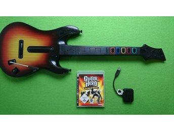 Guitar Hero Gitar med Guitar Hero World Tour till Playstation 3 PS3 - Västerhaninge - Guitar Hero Gitar med Guitar Hero World Tour till Playstation 3 PS3 - Västerhaninge