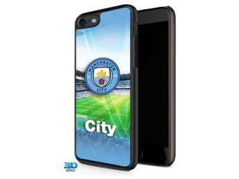 Manchester City iPhone 7 Skal Hårt 3D