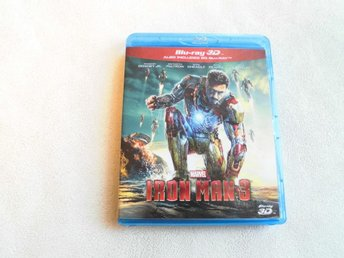 Iron Man 3. Blue-ray 3D. 2-disc.